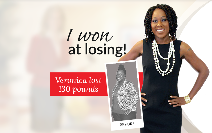 I won at losing! Veronica lost 130 pounds